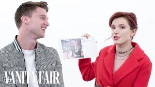 Bella Thorne and Patrick Schwarzenegger Explain Their Instagram Photos | Vanity Fair - Video Youtube
