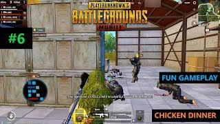 [Hindi] PUBG MOBILE | FUN GAMEPLAY WITH NICE SQUAD & CHICKEN DINNER