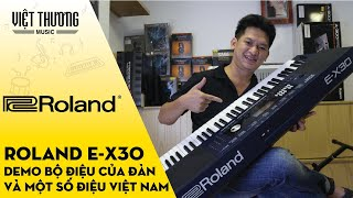 Roland E-X30 Unbox & Initial Impression - Better than Yamaha