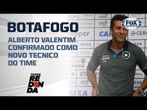 ALBERTO VALENTIM É ANUNCIADO NO BOTAFOGO! Comentaristas do