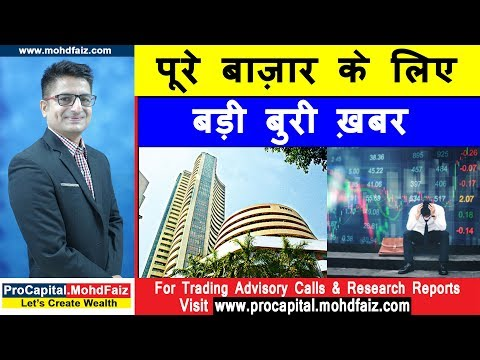 पूरे बाज़ार के लिए बड़ी बुरी ख़बर | Latest Share Market News