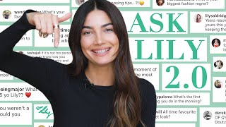How I Met Caleb & Advice To 15 Year-Old Me | Ask Lily 2.0 | Lily Aldridge
