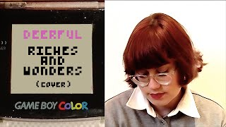 Riches and Wonders (the Mountain Goats) Game Boy Cover | Deerful