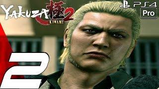 YAKUZA KIWAMI 2 - Gameplay Walkthrough Part 2 - Ryuji Goda Boss Fight (PS4 PRO)