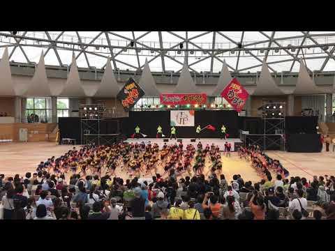 粕屋中央小学校4年生(ジュニアフェスタ) YOSAKOIかすや祭り 2019.10.12(土)