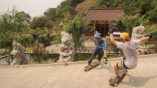 Bustin China - Exploring China on Longboards