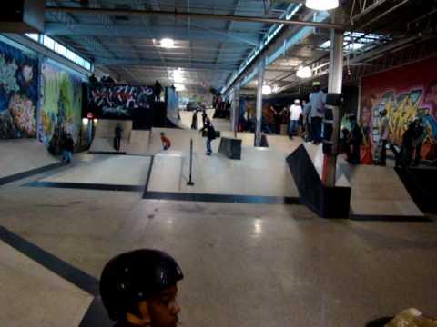 Scenes From GARDEN SK8 indoor skate park, PINE BROOK, NJ