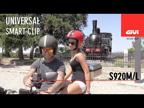 GIVI presents the new universal Smart Clip for all smartphone and devices. Available in two size M and L. Equipped with universal mounting kit