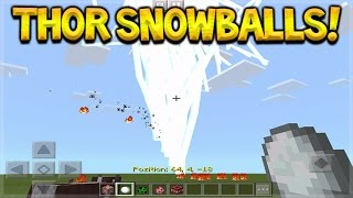Gambar cover How To Create Thor Snowballs In Minecraft Pocket Edition