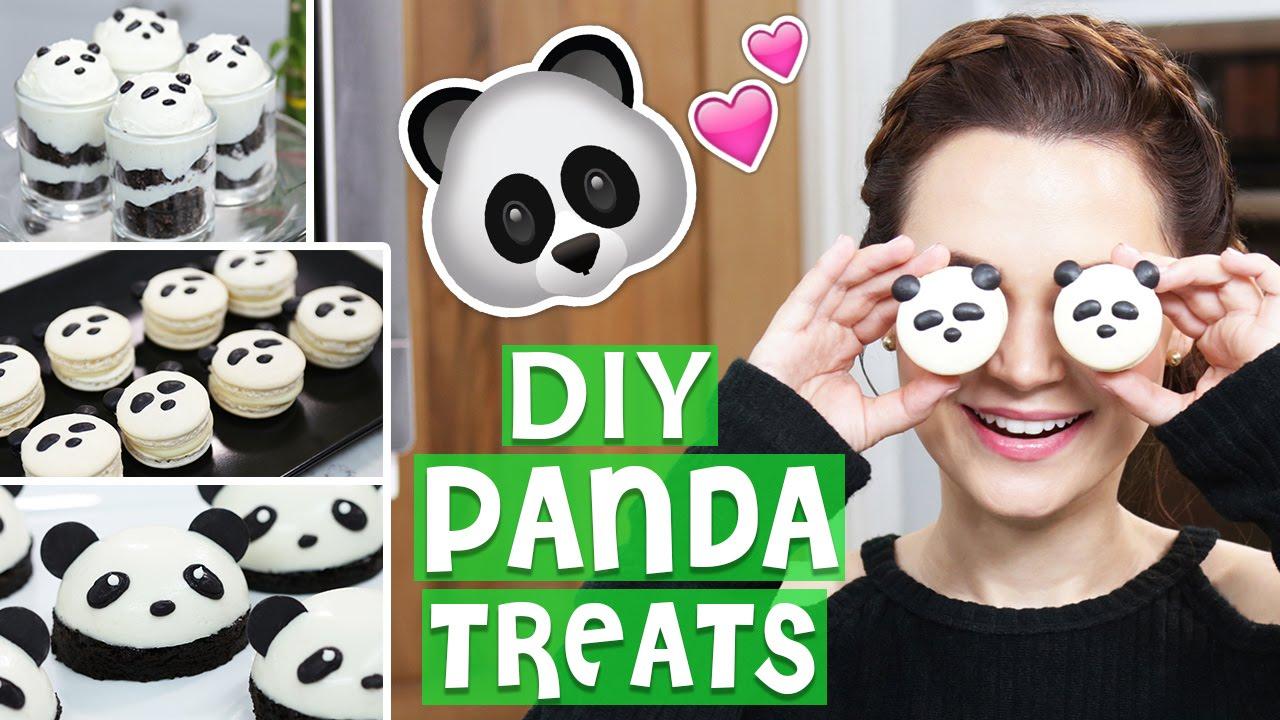 DIY PANDA TREATS! thumbnail