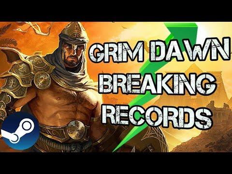 Grim Dawn Reached Its Peak On Steam!