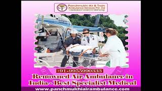 Safely Medical Transport by Air Ambulance Service in Raipur