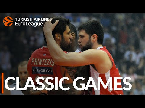 CLASSIC GAMES: Olympiacos – Efes, Game 5 2012-13