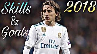 Luka Modric - Brilliant Midfielder [Dribbling, Assists, Passes, Skills & Goals] - Show 2017/2018 HD