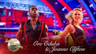 Ore Oduba & Joanne Clifton Cha Cha To 'Hot Stuff' - Strictly Come Dancing 2016: Week 2