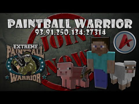 [PaintBall Warrior]- Pozvanka na server 2 [1.8, 1.8.1, 1.8.2] (CZ,HD)