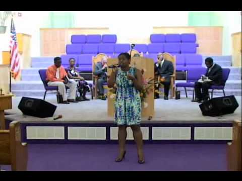Holy Spirit Come Fill This Place - Special Music - Lanika White - Mount Zion SDA Church