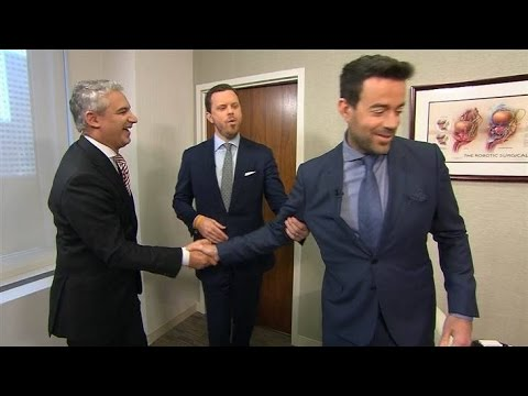 Dr. David Samadi: Testicular exams on Carson Daly and Willie Geist (NBC Today Show)