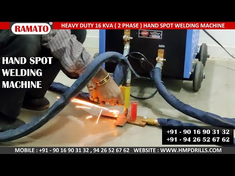 Ramato Hand Spot Welding Machine for Steel Almarih