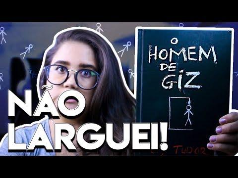 NÃO DEU PRA LARGAR: O HOMEM DE GIZ, C.J. TUDOR + SORTEIO | Pronome Interrogativo