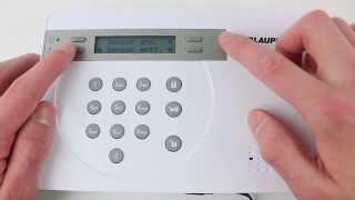 Blaupunkt Sicherheitssystem SA2700 einrichten