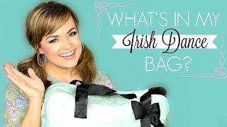 Whats In My Irish Dance Bag? (Irish Dancer Essentials)  |  Faces By Cait B