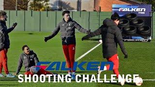 Trent & Origi v Minamino & Lallana v Elliott & Jones | Falken Tyres Shooting Challenge