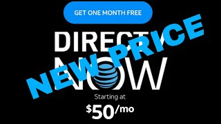 DIRECT TV NOW PRICE INCREASE    IS IT STILL WORTH IT?