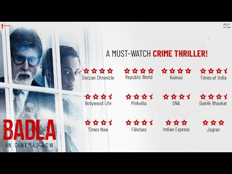 Badla (2019) Movie Trailer