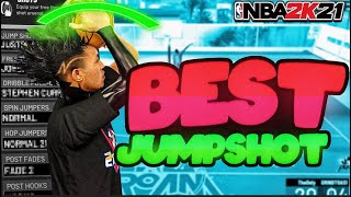 *NEW* BEST GREEN JUMPSHOT IN 2k21 NEVER MISS AGAIN (100% GREENS)!!!🤑🔥‼️