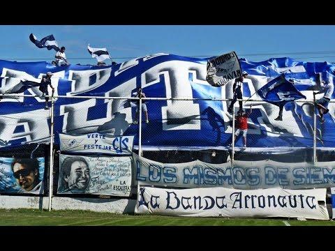 """""""Jorge Newbery de Comodoro Rivadavia 0 - Florentino Ameghino 2"""" Barra: La Banda Aeronauta • Club: Jorge Newbery de Comodoro"""
