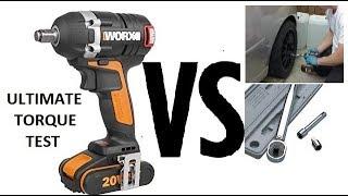 WORX WX279 Impact wrench vs Torque wrench