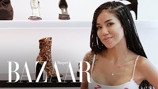 Jhené Aiko Shops for the Perfect Pair of Heels | Heel Hunters | Harper's BAZAAR