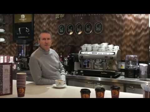 Sourcing and buying the best coffee beans. Pat Grant, Master Roaster, Greenbean Coffee Roasters