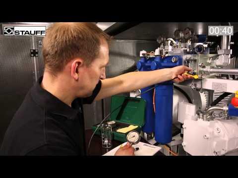 Vergleichsvideo STAUFF Edelstahl-Manometer   Comparative Video STAUFF Stainless Steel Pressure Gauge