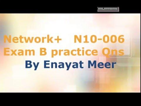Network + Exam Practice Questions - Exam B - YouTube