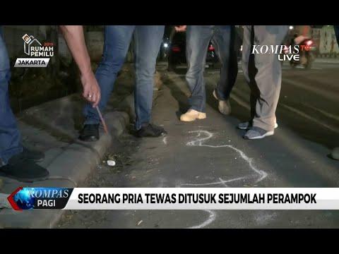 Seorang Pria Tewas Ditusuk Sejumlah Perampok di Daan Mogot, Jakarta