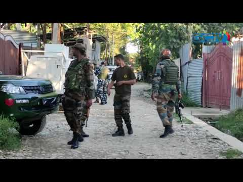 Gunfight breaks out in Kawoosa in central Kashmir's Budgam