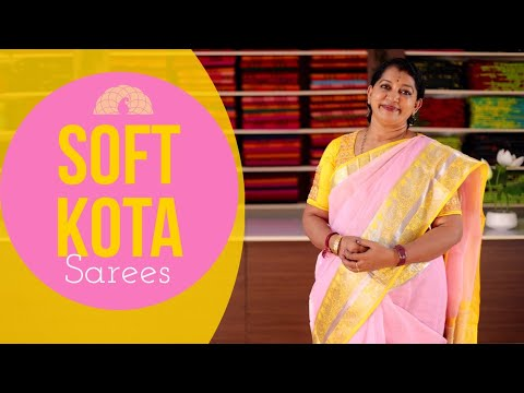 "<p style=""color: red"">Video : </p>New Soft Kota Sarees Collections 
