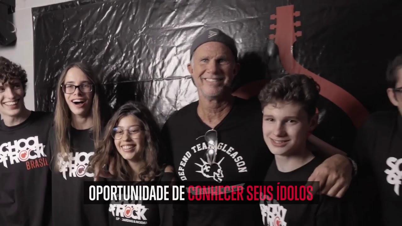 School of Rock Itaim Vila Olímpia - Venha ser um Rockstar!