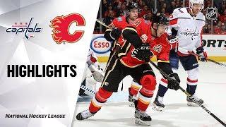 Capitals @ Flames 10/22/19 Highlights