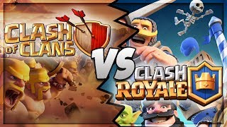 Clash Royale vs Clash Of Clans : Which is Better?