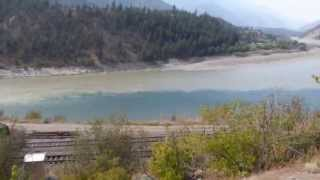 Where the Thompson joins the Fraser River
