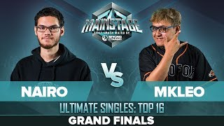 Nairo Vs MkLeo   GRAND FINALS: Ultimate Singles   Mainstage | ZSS, Palutena Vs Joker