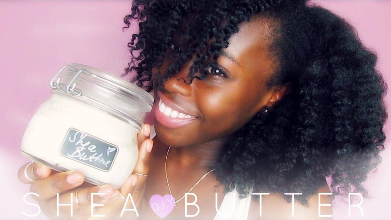 D.I.Y Homemade Fluffy Shea butter Cream