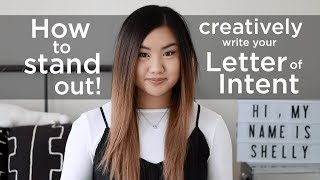 How I got into Graduate School - Writing a Letter of Intent   shellyginelle