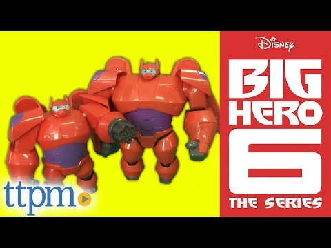 Flame-Blast Flying Baymax Deluxe Action Figure from Big Hero 6