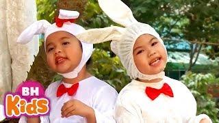 Liên Khúc Thiếu Nhi Vui Nhộn ♫ Chú Thỏ Tinh Nghịch ♫ Bàn Tay Mẹ | Nhạc Thiếu Nhi Hay Nhất