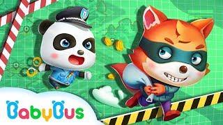 警察抓小偷 + 更多 | 幼兒教育遊戲影片合集 | 兒童遊戲動畫 | 寶寶巴士