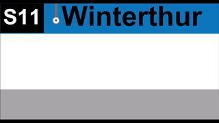 SBB ZVV Ansage Winterthur zugteil wird geschlossen